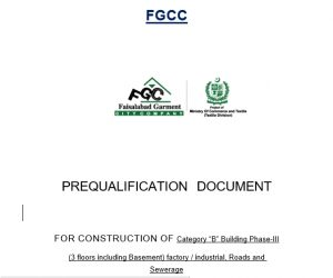 Contractor Pre-qualification Criteria final from consultant
